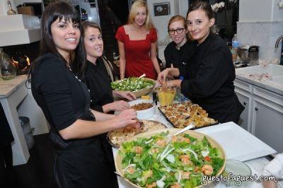 jill donenfeld in The Supper Club LA's Bachelor Kitchen Party