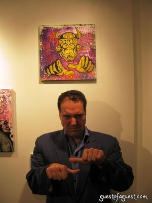 jim jermanok in Damon Johnson Gallery Opening