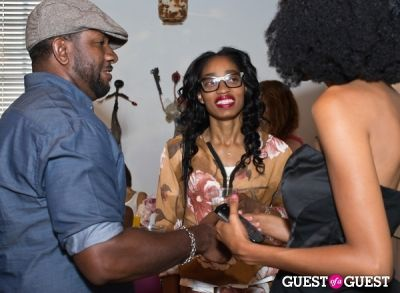 jimmie jackson in Brave Chick B.E.A.M. Award Fashion and Beauty Brunch