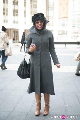 joanne hill in NYC Fashion Week FW 14 Street Style Day 7