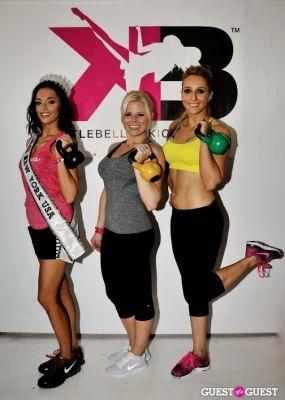 megan hilty in Kettlebell Kickboxing Fitness Gala