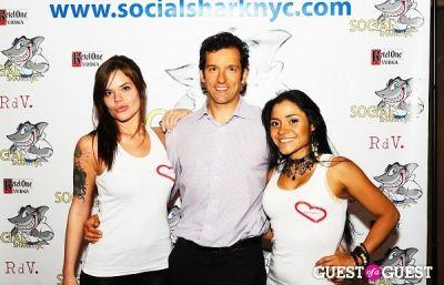joe zenkus in SocialSharkNYC.com Launch Party