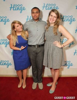 joel cas in Arrivals -- Hinge: The Launch Party