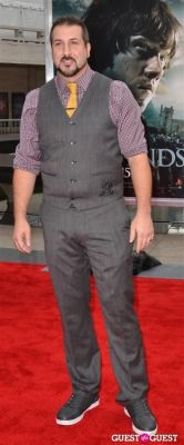 joey fatone in Harry Potter And The Deathly Hallows Part 2 New York Premiere