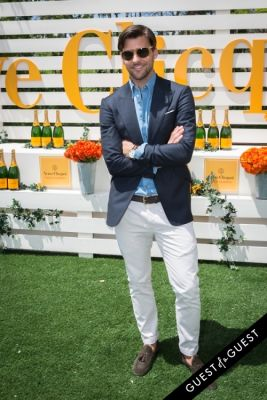 johannes huebl in Veuve Clicquot Polo Classic 2014