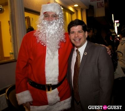 john piccolo in Strazzullo Law Firm annual Christmas Tree Lighting