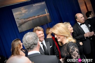 jon bon-jovi in Washington Post WHCD Reception 2013