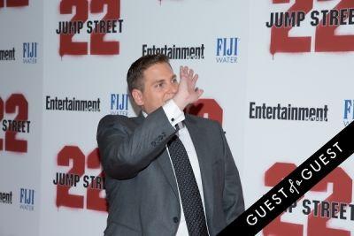jonah hill in 22 Jump Street Premiere