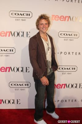 jonny weston in 9th Annual Teen Vogue 'Young Hollywood' Party Sponsored by Coach (At Paramount Studios New York City Street Back Lot)