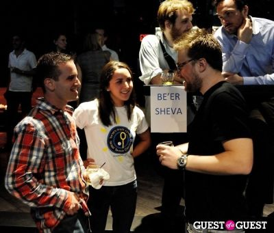 jacob slevin in Ping Pong Fundraiser for Tennis Co-Existence Programs in Israel