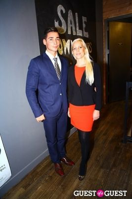 caroline grane in Cathy Hobbs Mythic Paint Launch Party