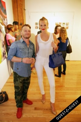 joseph gross in Art Now NY Opening of
