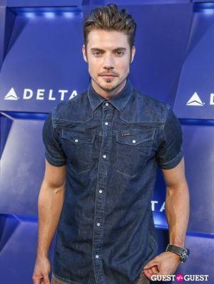 josh henderson in Delta Air Lines Hosts Summer Celebration in Beverly Hills