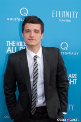 "josh hutcherson in ""The Kids Are All Right"" Premiere Screening"