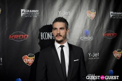 josh kloss in Los Angeles Confidential Grammy Party With Robin Thicke - Arrivals