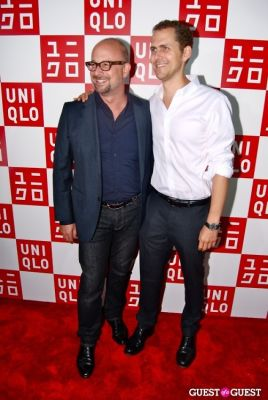 robert hammond in UNIQLO Global Flagship Opening