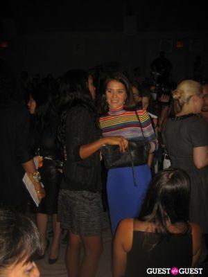 joy bryant in NYFW: Charlotte Ronson Spring 2012