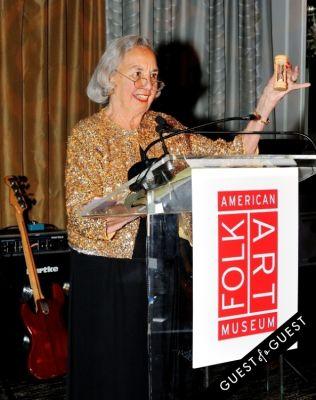 joyce cowin in The American Folk Art Museum Fall Benefit Gala