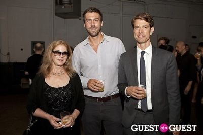 gavin and-justin-steinberg in Art and Social Activism Exhibition Opening