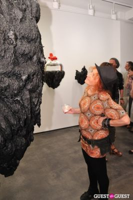 judy sky in Ronald Ventura: A Thousand Islands opening at Tyler Rollins Gallery