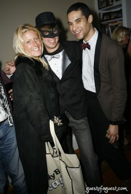 paul johnson-calderon in Masquerade christmas party
