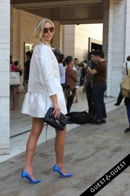 julia dudko in NYFW Style From the Tents: Street Style Day 1
