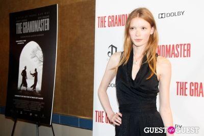julia hafstrom in The Grandmaster NY Premiere