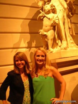 julia lovallo in Metropolitan Museum of Art's Young Members Summer Party