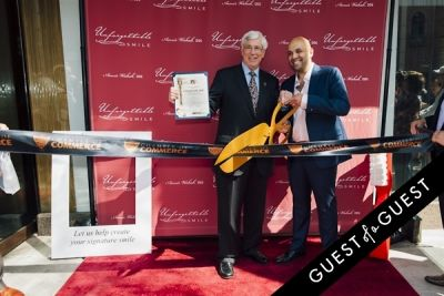 julian gold in Unforgettable Smile Ribbon Cutting Ceremony
