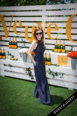 julianne moore in Veuve Clicquot Polo Classic 2014