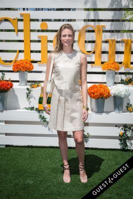 julie henderson in Veuve Clicquot Polo Classic 2014