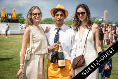 eugenia miranda in Veuve Clicquot Polo Classic 2014