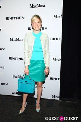 julie macklowe in 2013 Whitney Art Party