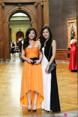 lily feng;-toyanna-mayo in The Frick Collection 2013 Young Fellows Ball