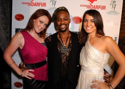 malcolm harris in Designers for Darfur at the Speakeasy