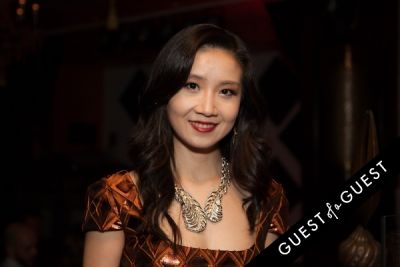 juying qin in Annika Connor by ShawLux Launch Party