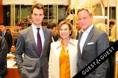 daniel benedict in Hartmann & The Society of Memorial Sloan Kettering Preview Party Kickoff Event