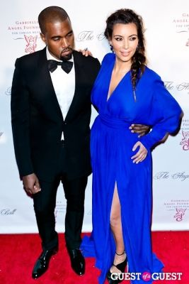 kim kardashian in Gabrielle's Angel Foundation Hosts Angel Ball 2012