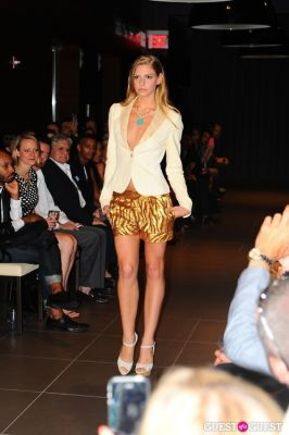 karen biehl in Stephen Mikhail Resort Collection 2012