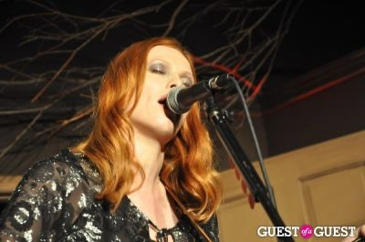karen elson in Karen Elson Paper Magazine Party
