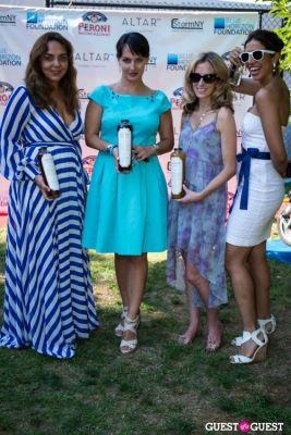 karina in Blue Horizon Foundation Polo Hospitality Tent Event