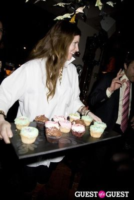 kat clements in Bloomberg Anchor Margaret Brennan's Birthday Party at The Collective