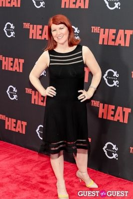 kate flannery in The Heat Premiere