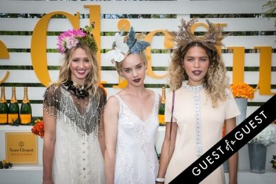 kate greer in Veuve Clicquot Polo Classic 2014