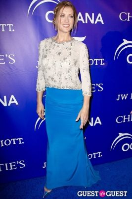 kate walsh in Oceana's Inaugural Ball at Christie's