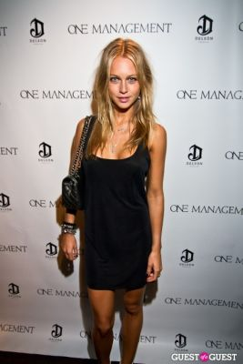 katharina damm in One Management 10 Year Anniversary Party