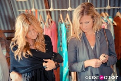 andrea brown in The Styleliner Venice Pop Up Opening Party