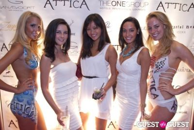 teresa huang in Attica 2nd Anniversary -- White Party