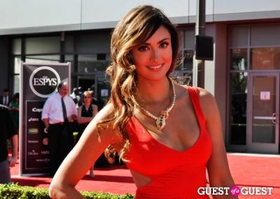 katie cleary in 2013 ESPYS: Arrivals