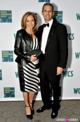 katie couric in Wildlife Conservation Society Gala 2013